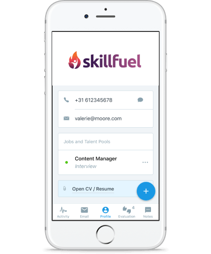 recruitment automation app by Skill Fuel