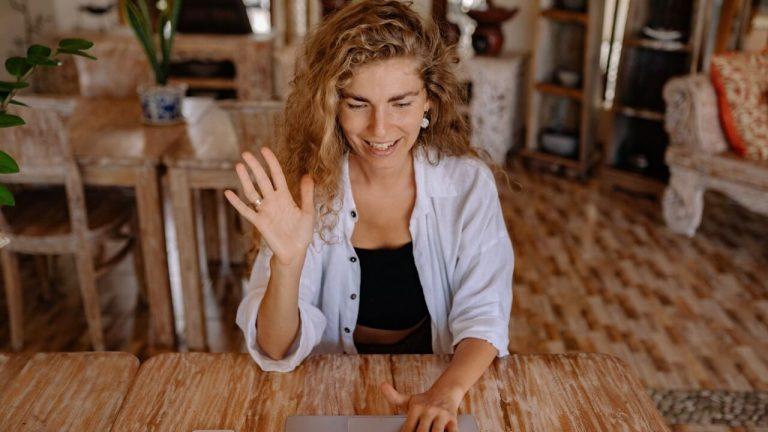 online job interview human resources